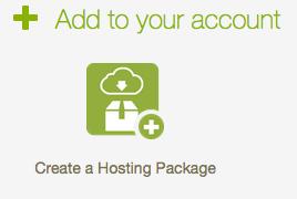 Create Hosting Package